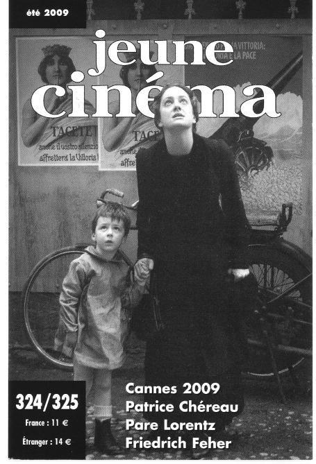 Couverture Jeune cinéma N°324 325